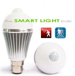 The LED Smart Light PIR Motion Sensor Light Bulb