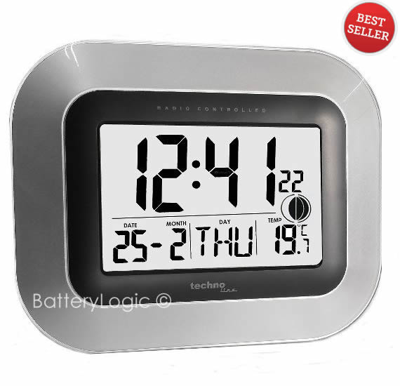 Jumbo LCD Digital Wall Clock WS-8005M