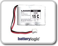 15C cordless phone battery
