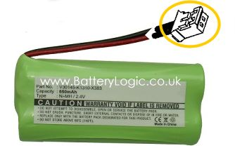 38H cordless phone battery