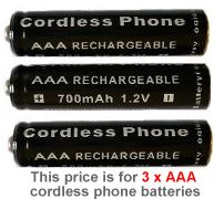 59T cordless phone battery