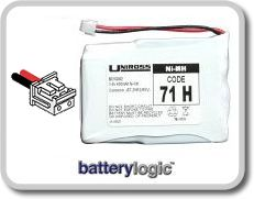 71H cordless phone battery
