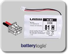 81H cordless phone battery