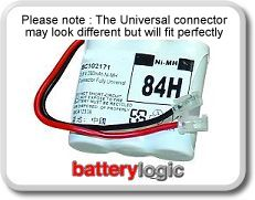 84H cordless phone battery