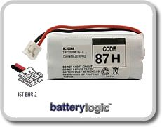 87H cordless phone battery