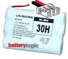 Uniross 30H replacement battery