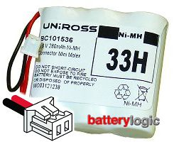 Uniross 33H replacement battery