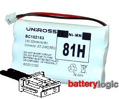 Uniross 81H replacement battery