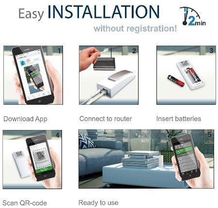 Mobile Alerts MA-10001-UKSET Remote Sensor Monitoring