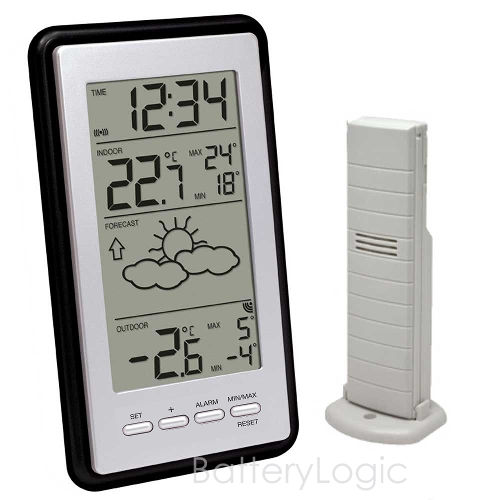 Technoline WS-9130 Weather Station with Indoor and Outdoor temperature display